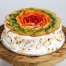 Creamy Vanilla Fruit Cake: Eggless Cakes for Mother's Day