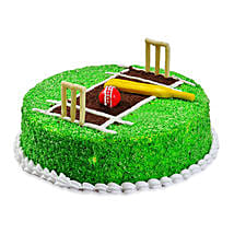 Cricket Pitch Cake: Send Designer Cakes to Mumbai