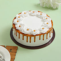 Crunchy Butterscotch Cream Cake: New Year Cakes for Clients