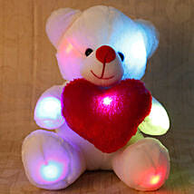Cuddly White Teddy Bear: Soft Toys for Kids