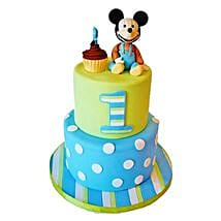 Cute Cartoon Cake: Mickey Mouse Cakes