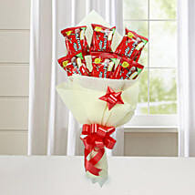 Cute Choco Pie Bouquet: