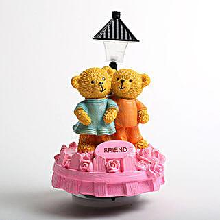 Cute Friend Teddy Showpiece: Birthday gifts