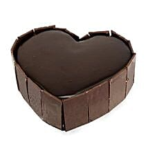 Cute Heart Shape Cake: Friendship Day Gifts to Patna