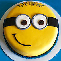 Cute Minion Cake: Cake Delivery in Kanchipuram