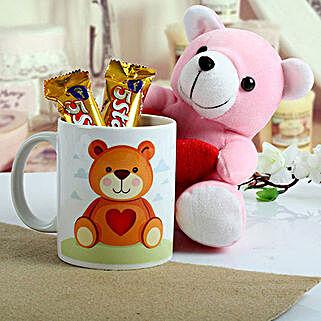 Cute n Sweet Hamper: Teddy Day Gifts