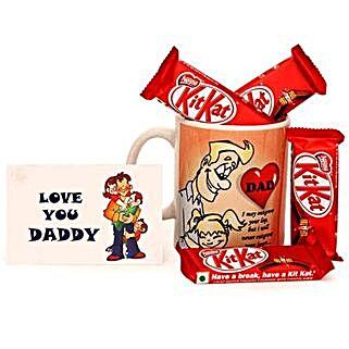 Daddy Dearest: Send Chocolates to Lucknow