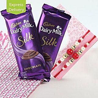 Dairy Rakhi Love: Rakhi With Chocolates Bestsellers