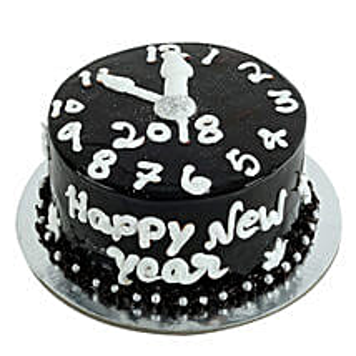 Dark Chocolate New Year Cake: New Year Gifts for Him