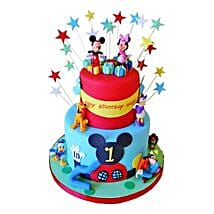 Dazzling Disney Cake: Send Chocolate Cakes to Pune