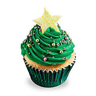 Decorative Christmas Tree Cupcakes: Cup Cakes to Bengaluru