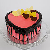 Delicious Hearts Cake: Cakes for Girlfriend