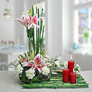 Delightful Arrangement: Send Anniversary Flowers for Wife