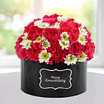 Delightful Floral Arrangement: Send Roses to Mumbai