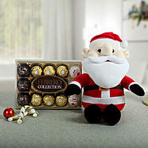 Delightful Santa N Chocolate Combo: Send Christmas Gifts? to Delhi