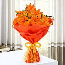 Descent Bouquet: Send Romantic Flowers for Husband