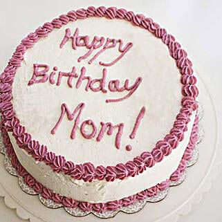 Eggless Princely Cake: Send Vanilla Cakes