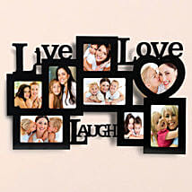 Elegant Love Photo Frame Lamp: Valentine Personalised Gifts