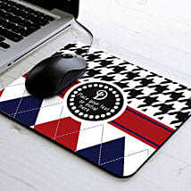 Elegant Personalized Mouse Pad: Send Gifts to Jaunpur