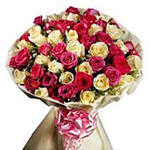 Elegant Roses: Send Gifts to Moradabad