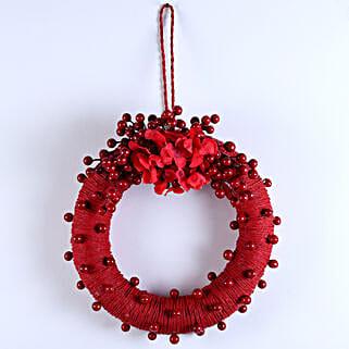 Embellished Christmas Wreath: