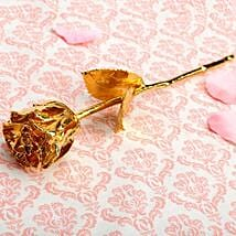 Engraved Rose For Mom: Gold Plated Gifts