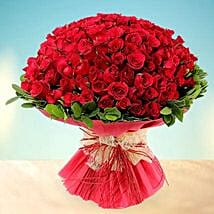 Treasured Love- 200 Red Roses Bouquet: Valentine Gifts for Girlfriend