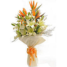Exotic Bouquet: Wedding Flowers for Bride