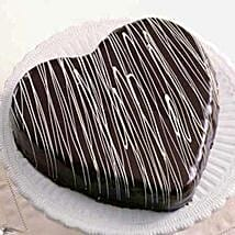 Expressions Of Love Cake: Send Heart Shaped Cakes