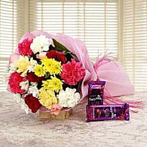 Fascinated Bouquet: Flower Bouquets Gurgaon