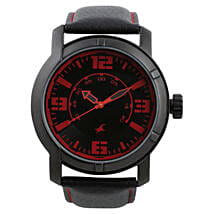 Fastrack Analog Black Dial Mens Watch: Watches