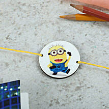 Favorite Minion Rakhi: Rakhi Gifts to Silchar