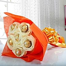 Ferrero Rocher Bouquet: Send Chocolate Bouquet