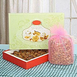 Fervor Sweet N Crunch: Send Karwa Chauth Gifts to Agra