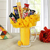 Fit For Chocoholics: Send Chocolate Bouquet for Kids