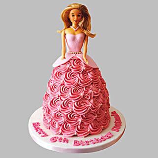 Flamboyant Barbie Cake: Cakes to Kalyan