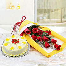 Floral Array of Hues: Birthday Cakes Panchkula