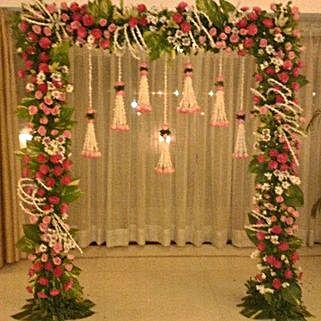 Floral Gateway Hanging Decoration: Home Decor for Diwali