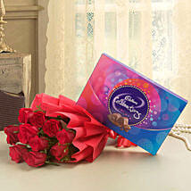 Flowery Celebrations: Send Flowers & Chocolates for Husband