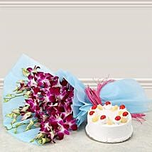 For Special Someone: Flowers & Cakes for New Year