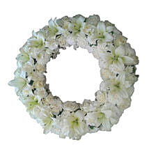 Fresh Flower Wreath: Flowers to Puducherry