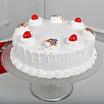 Fresh Vanilla Cake: Send Cakes to Tirupati