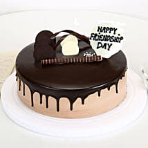 Friendship Day Chocolate Cake: Friendship Day Cakes