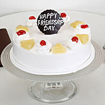 Friendship Day Pineapple Cake: Cake Delivery in Nagercoil
