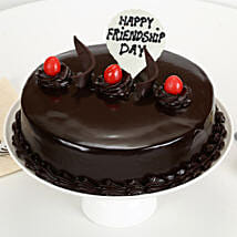 Friendship Day - Truffle Cake: Friendship Day Gifts to Mumbai