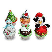 Funny Christmas Cupcakess: Cup Cakes to Noida