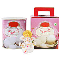 Ganesha Idol and Rasgullas: Handicrafts to Delhi
