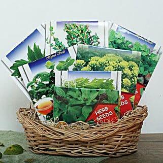 Get Your Basket of Seeds: Send Organic Seeds