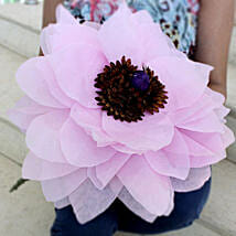 Giant Paper Flower: Artificial Flowers Hyderabad