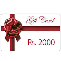 Gift Card 2000: Wedding Gifts to Vapi